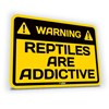 Sticker Reptiles Are Addictive Default Title